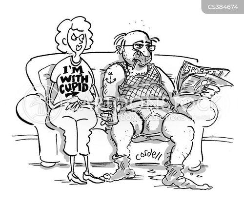 odd couple cartoon