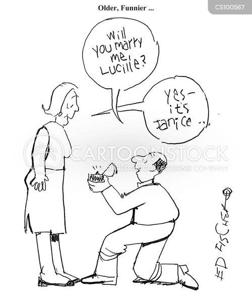 bended knee cartoon