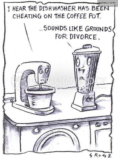 coffee pots cartoon