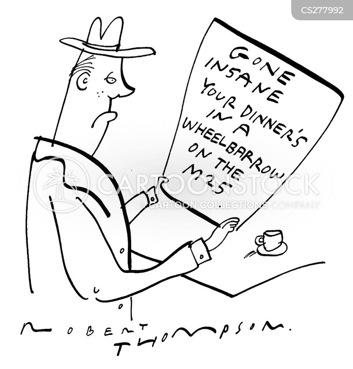 strange behaviour cartoon
