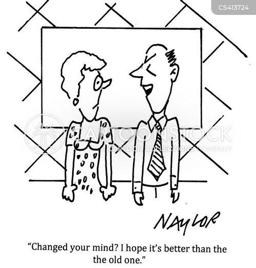 fickleness cartoon