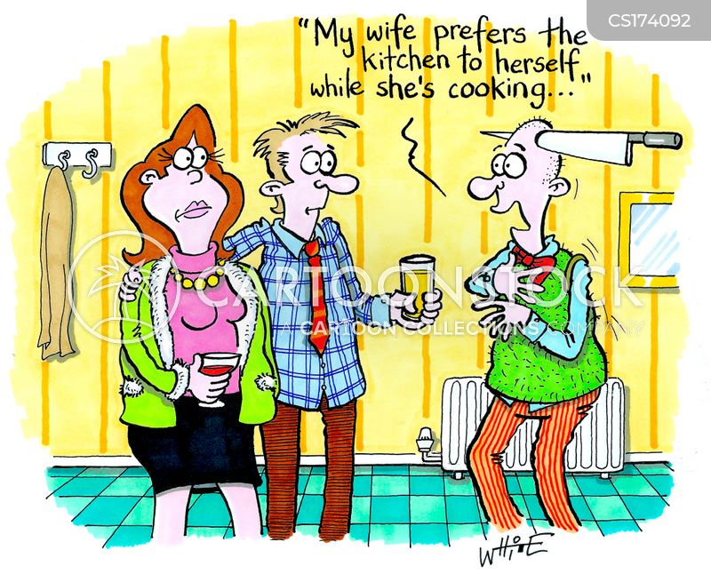 house guests cartoon