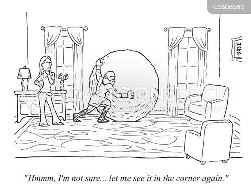 moving furniture cartoon
