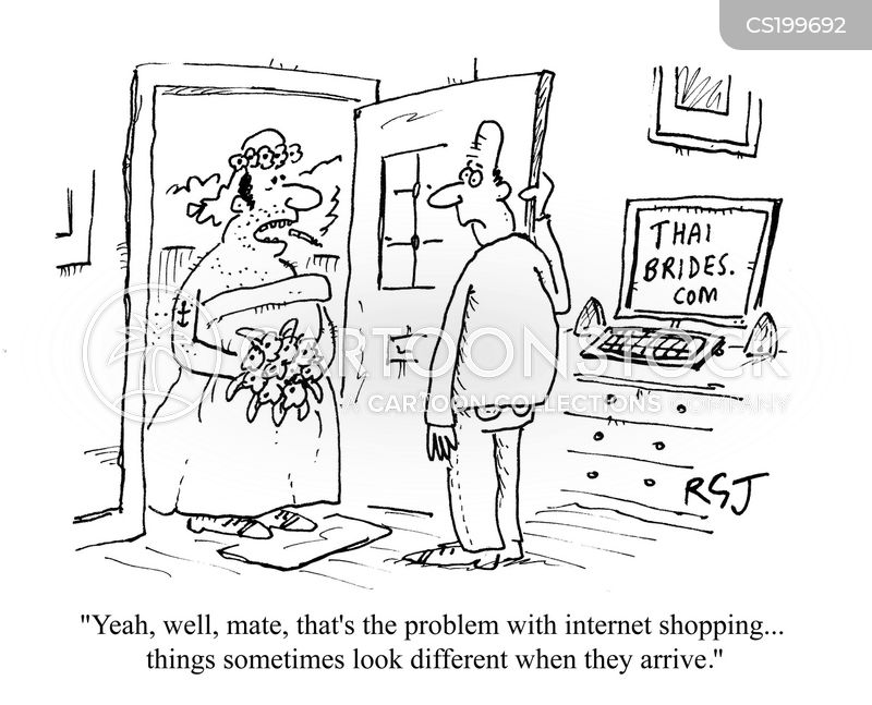 internet brides cartoon