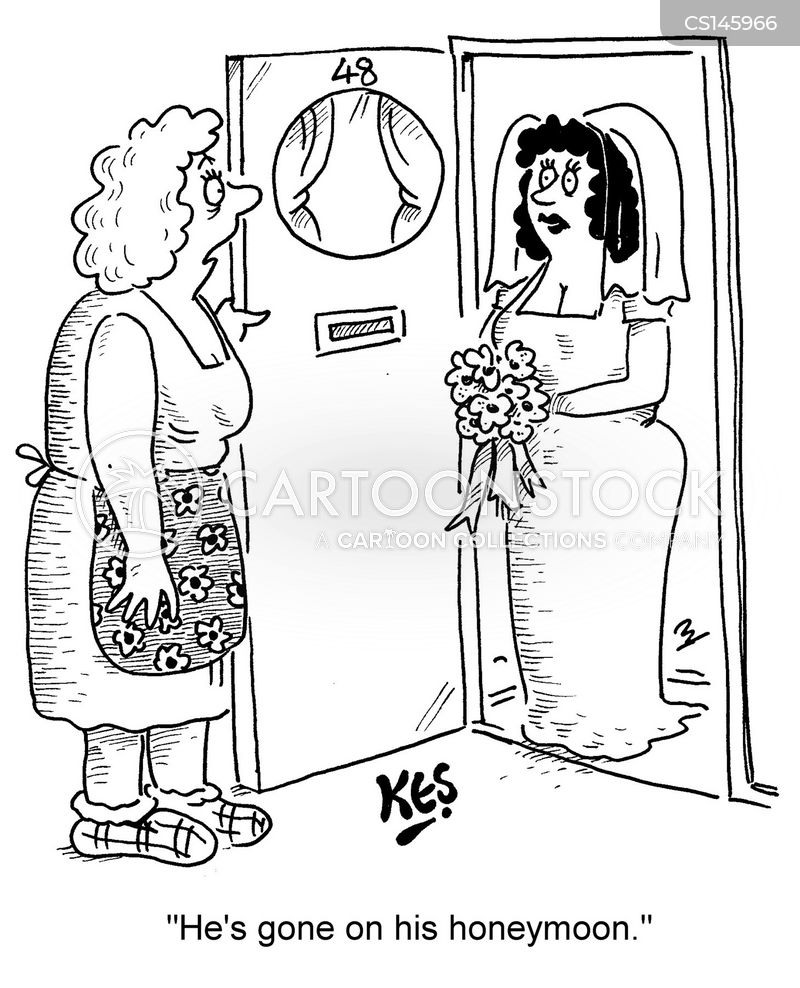 jilted bride cartoon