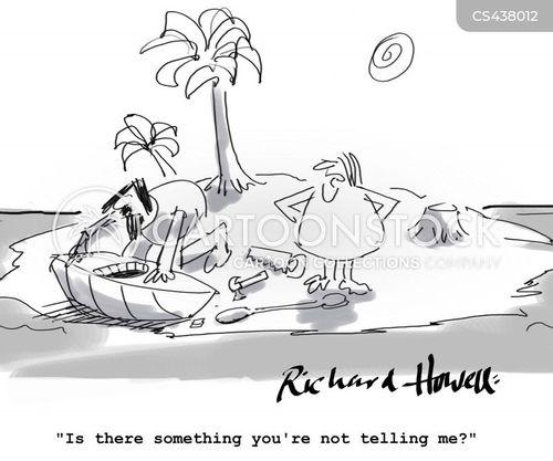 kayak cartoon