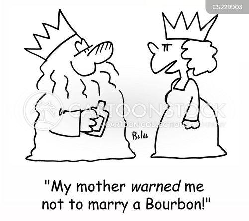 bourbon cartoon