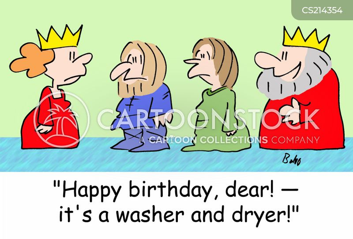 washer dryers cartoon