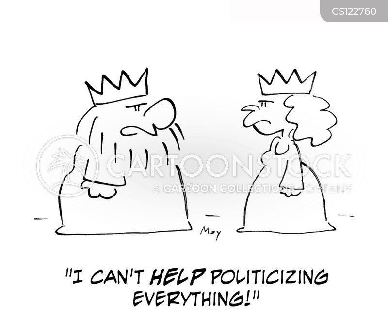 politicise cartoon