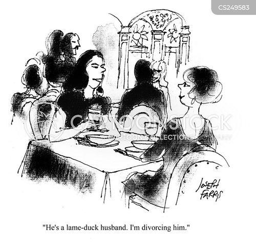 lame duck cartoon