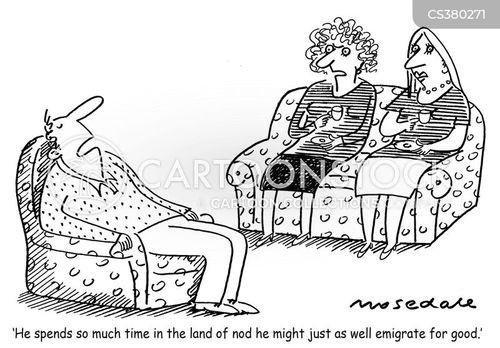 narcolepsy cartoon