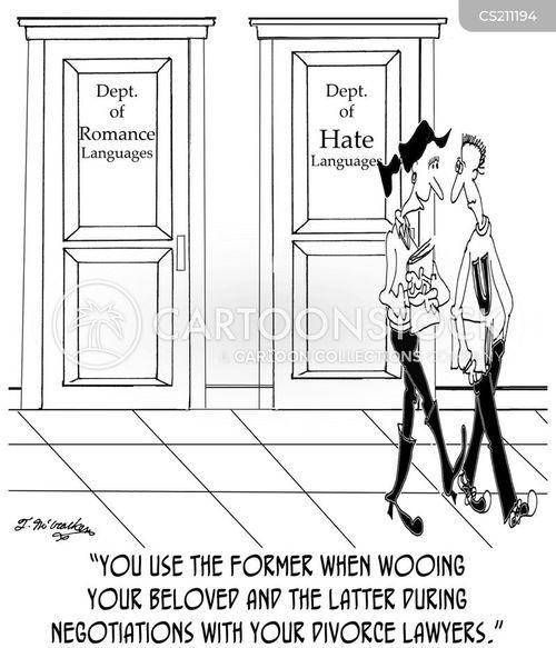 wooing cartoon