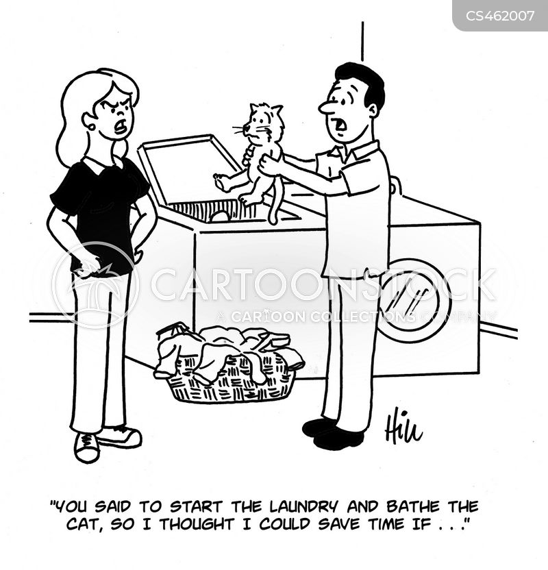 Laundry Room Cartoon 24 Of 25