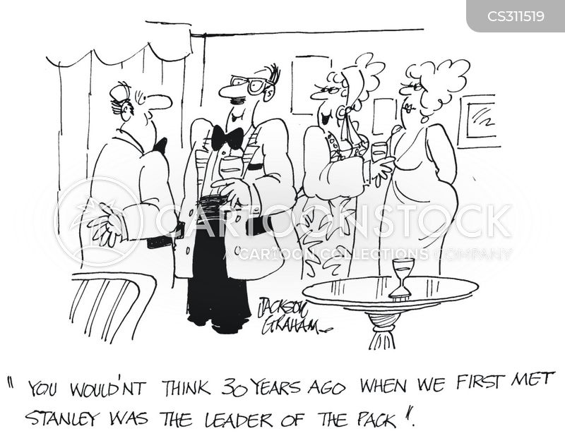 leader of the pack cartoon