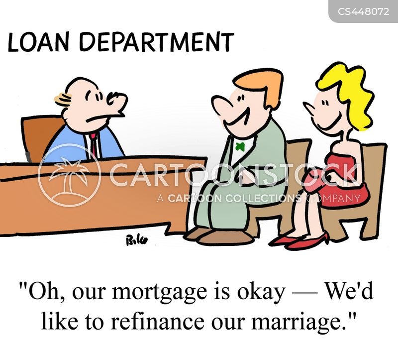 refinances cartoon