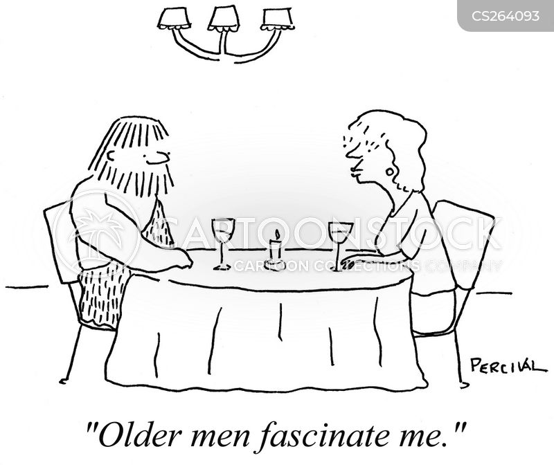 fascinated cartoon