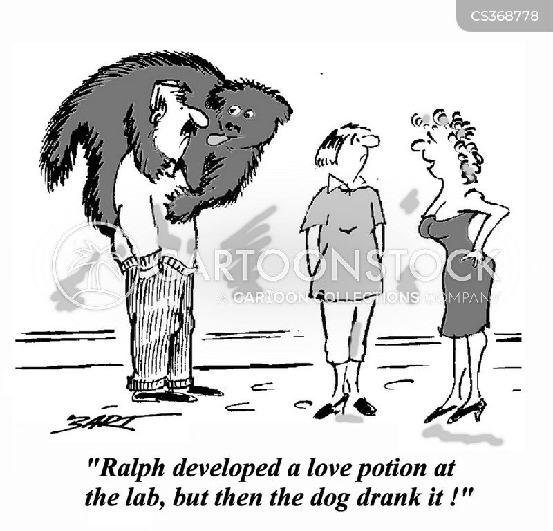 love potion cartoon