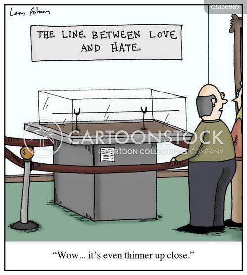 thin line cartoon