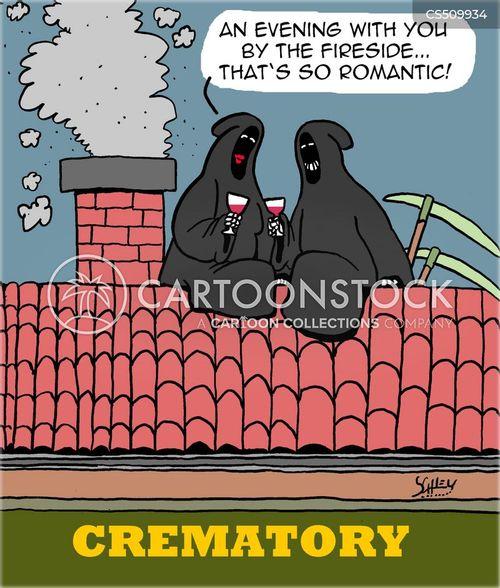 crematories cartoon