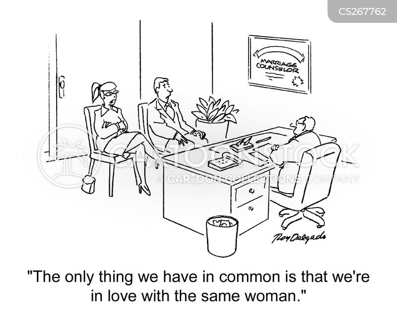 marriage issues cartoon