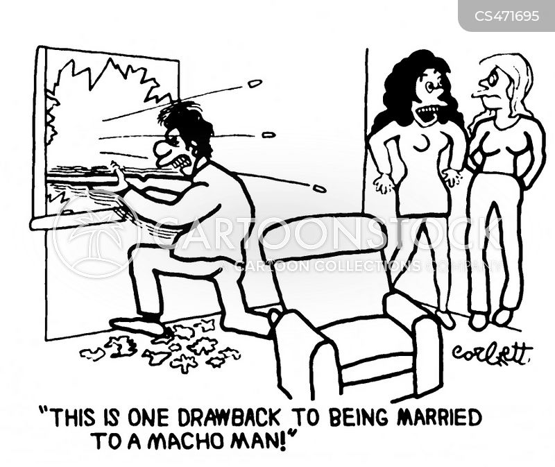 macho-man cartoon