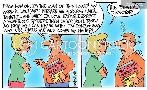 man of the house cartoon