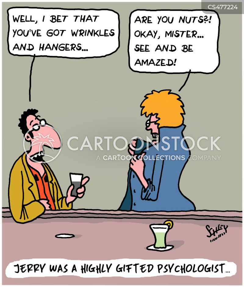 reverse psychologies cartoon