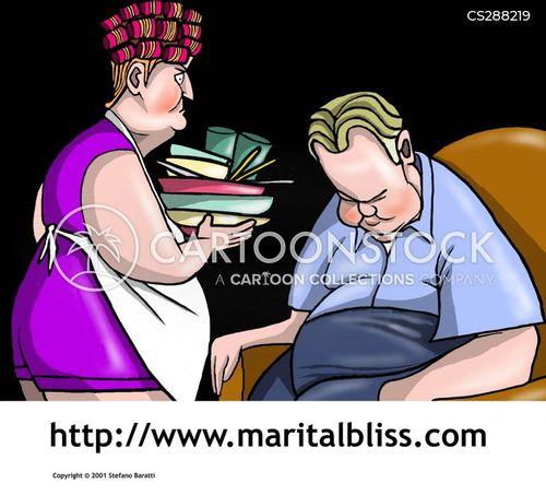 wedded bliss cartoon