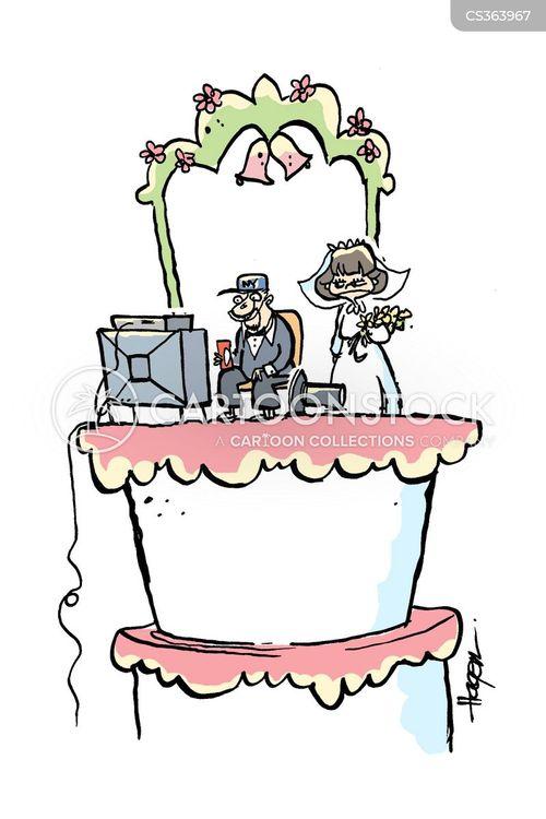 Wedding Bells Cartoons And Comics