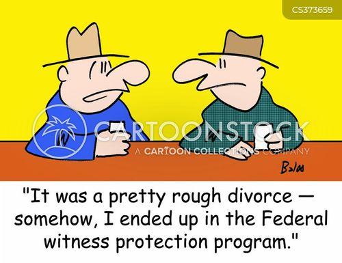witness protection programme cartoon