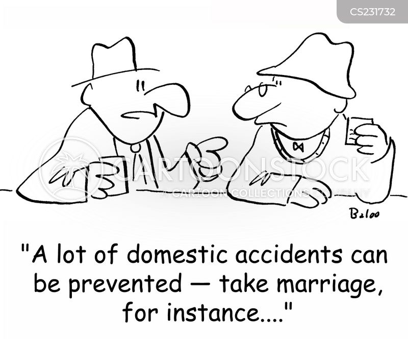 accident prevention cartoon