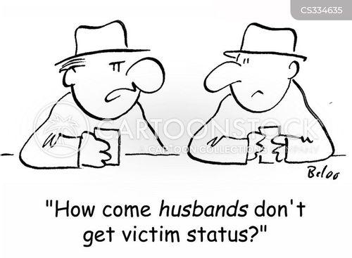 victim status cartoon