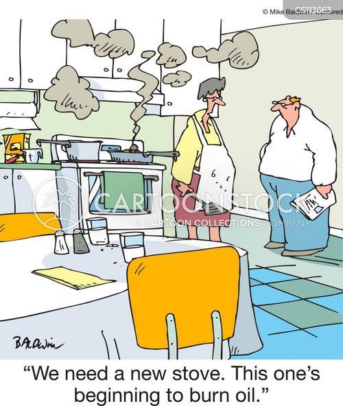 kitchen appliances cartoon