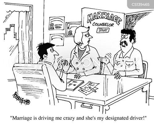 relationship counsellor cartoon