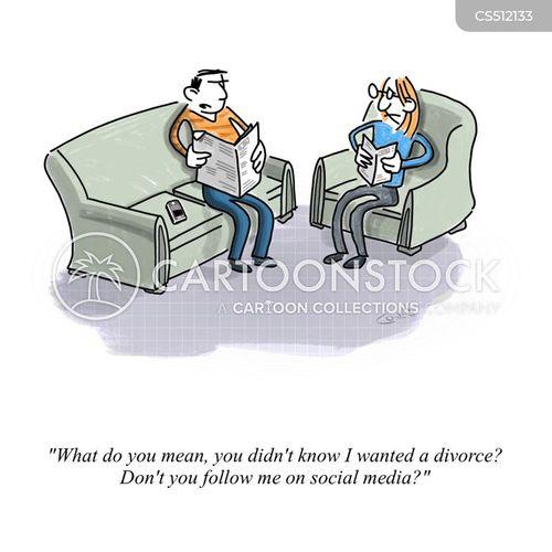 lack of communication cartoon