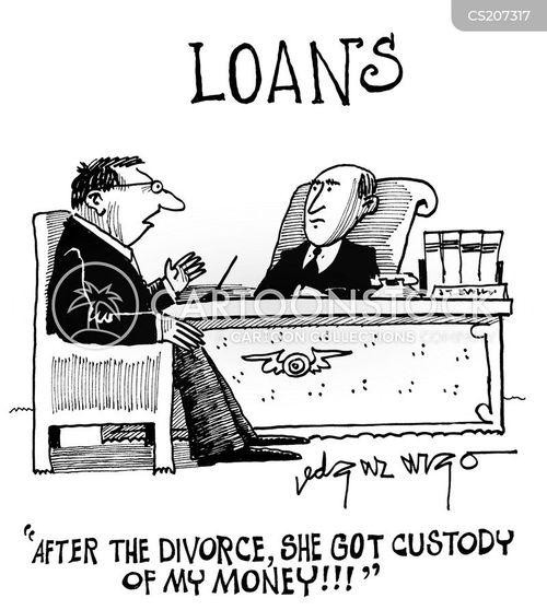 loan company cartoon
