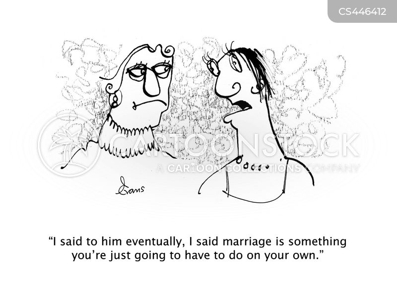 relationship trouble cartoon