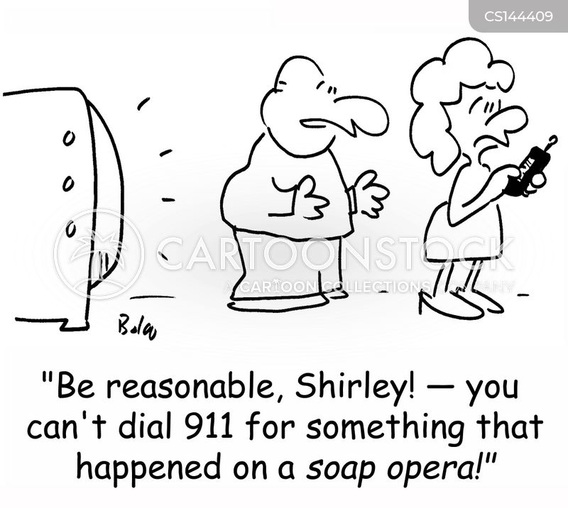 soap operas cartoon