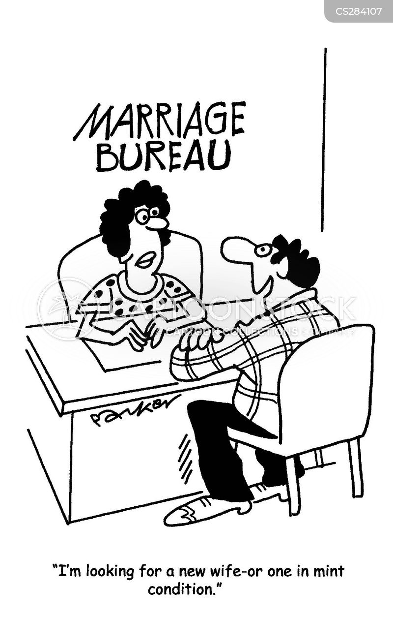 Marriage Bureau Cartoons and Comics - funny pictures from