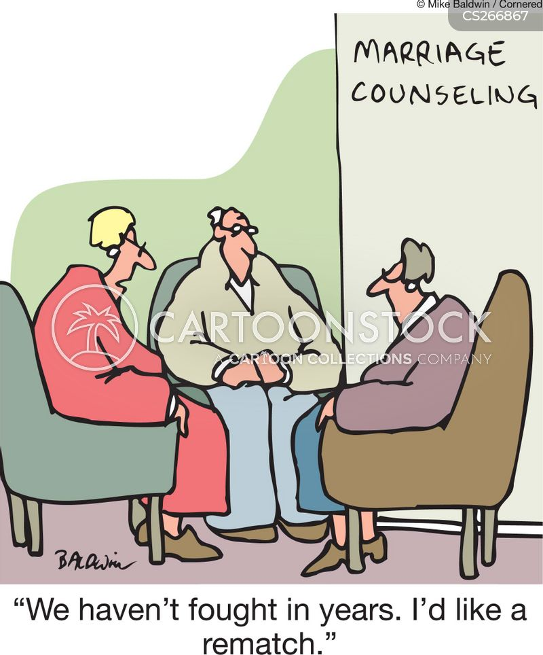 getting help cartoon