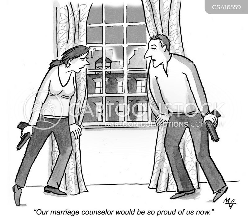 successful marriage cartoon