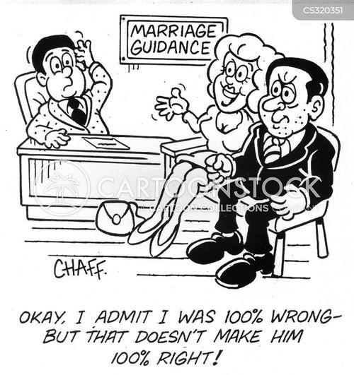 right and wrong cartoon