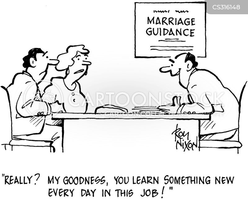 Marriage Guidance Counselor Cartoons and Comics - funny ...