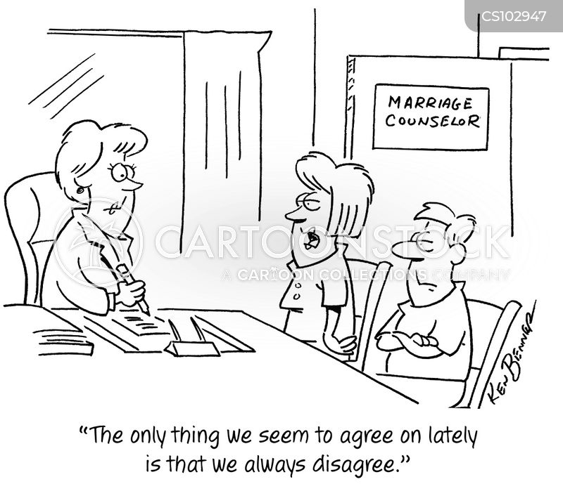 marriage therapists cartoon
