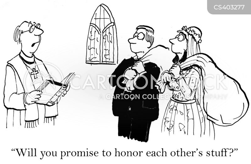 marriage oaths cartoon