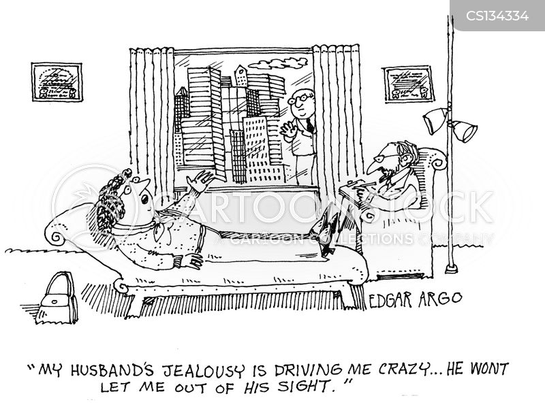 driven crazy cartoon