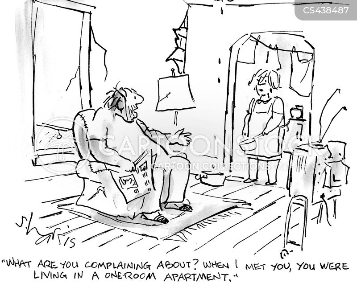 social climbers cartoon