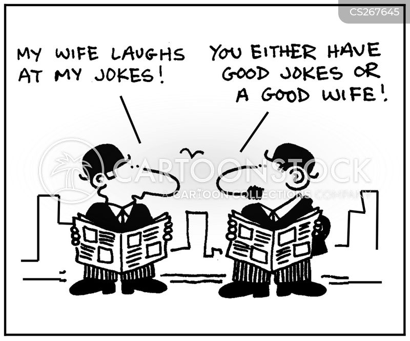 Good Wife Cartoons and Comics - funny pictures from CartoonStock