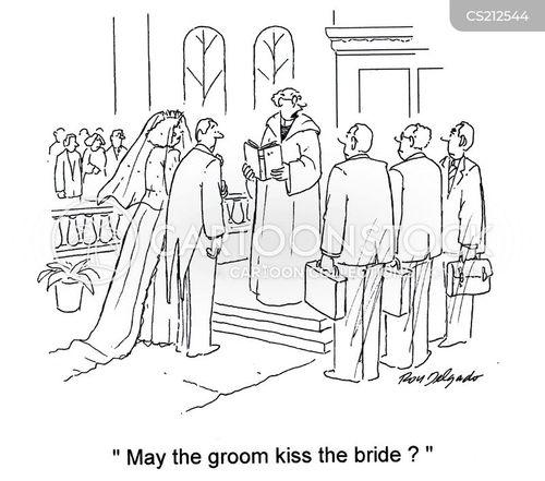 kissed cartoon