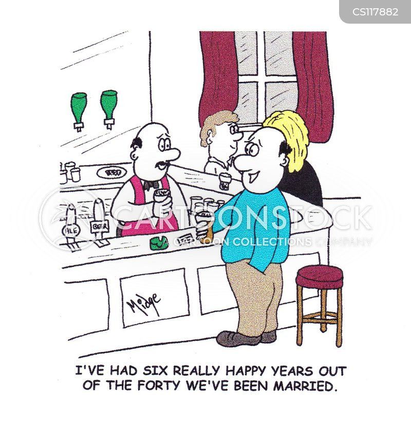 long marriages cartoon